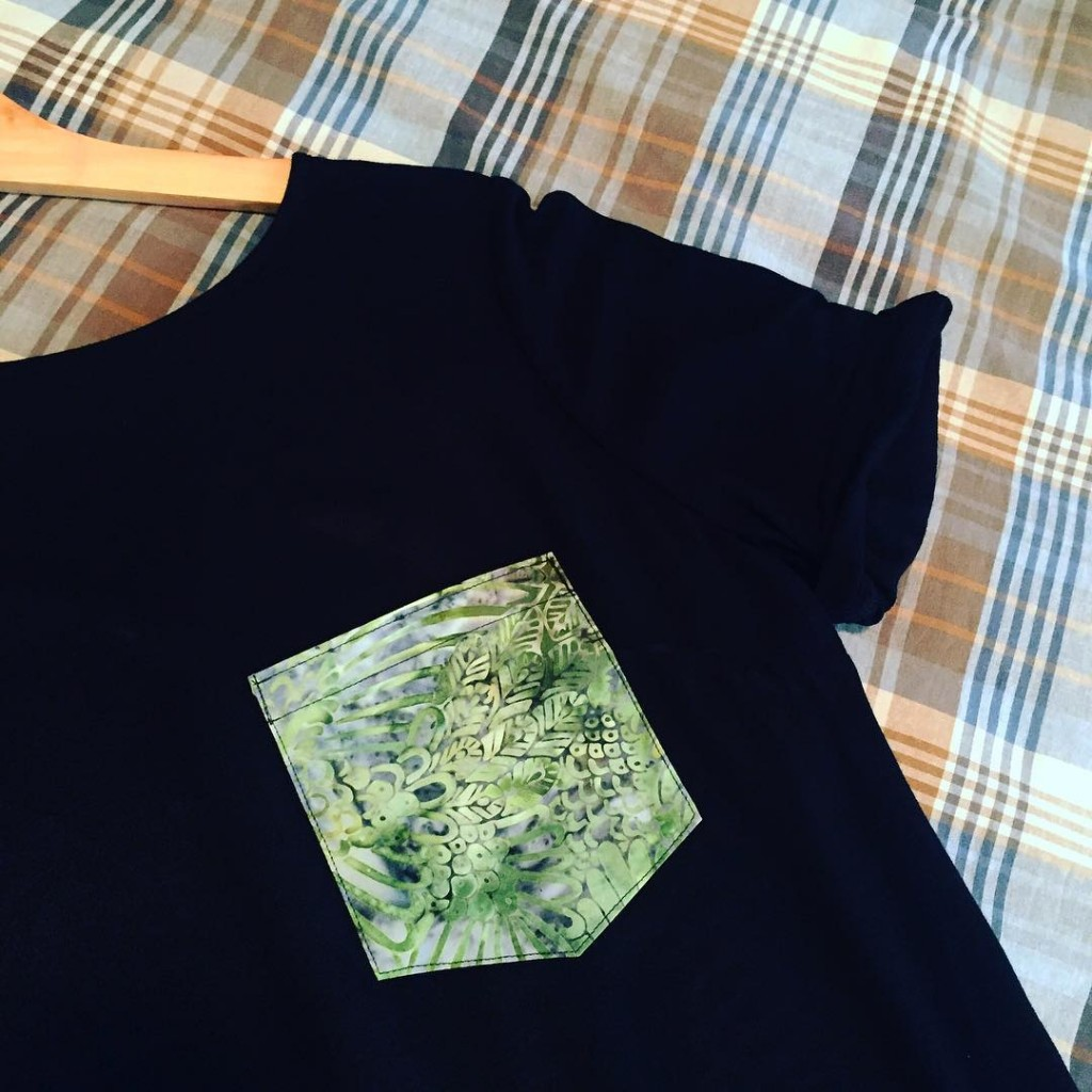 Created my dream pajama top this afternoon Inspired by plantshellip