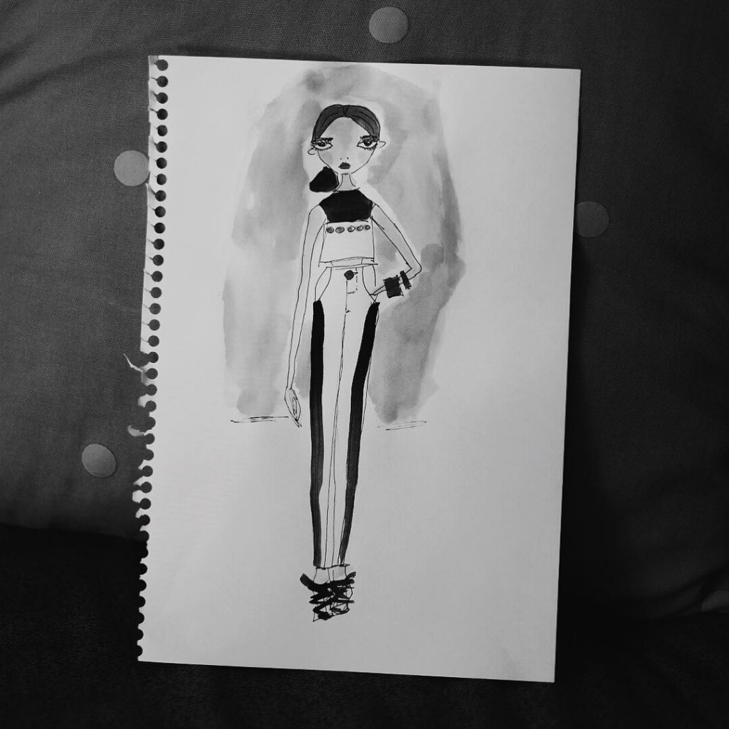 Pretending to design for YSL for an upcoming assignment Ihellip