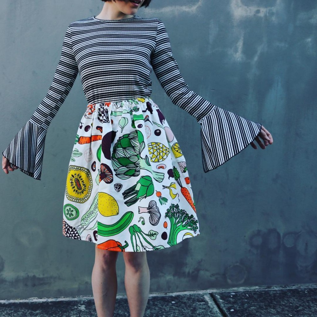 Why eat your veggies when you can wear them? Thishellip