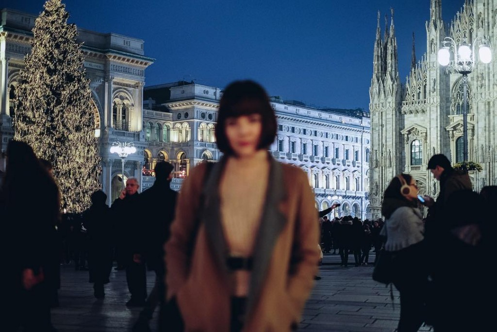 Christmas in Milan has me a little out of focushellip